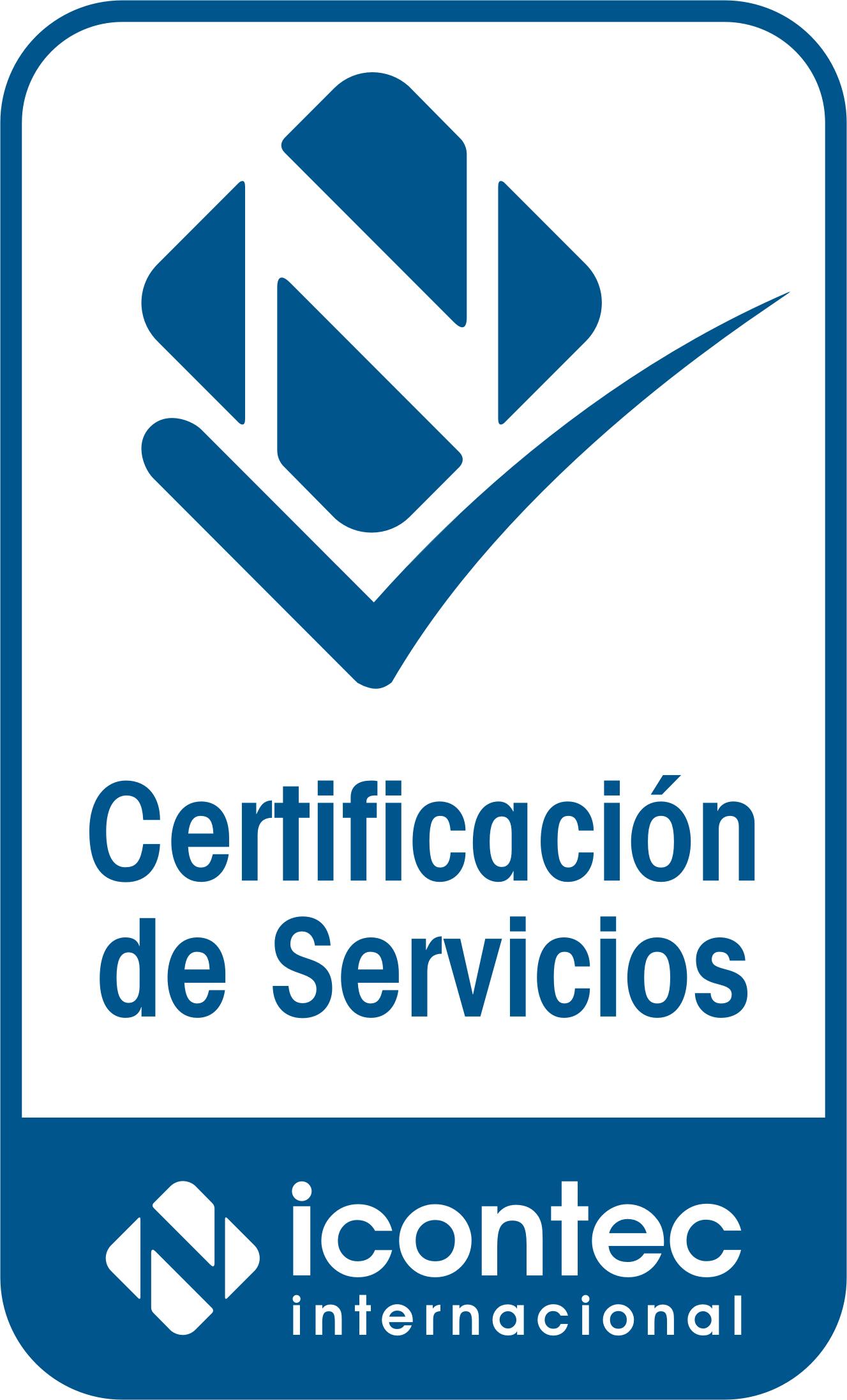Logo Certificacion Servicios